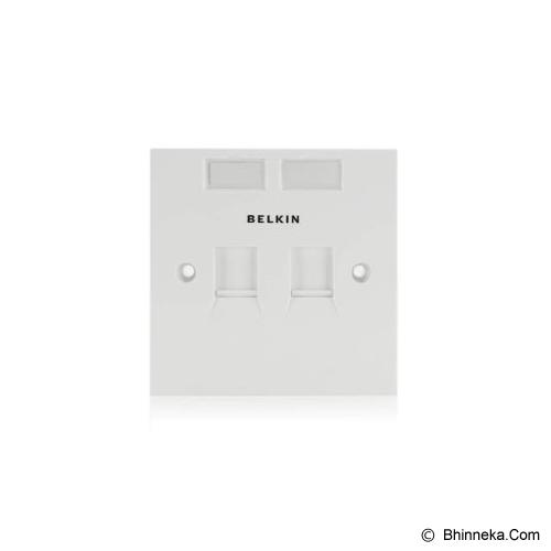 BELKIN Faceplate [F4E128-2-WHT] - Faceplate